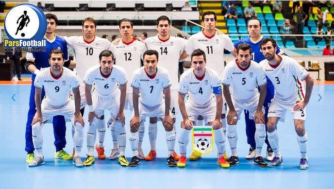 پیروزی تیم ملی فوتسال ایران مقابل تیم فوتسال پرتغال | ایران سوم جهان شد