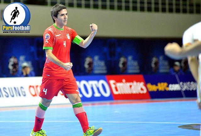محمد کشاورز کاپیتان تیم ملی فوتسال