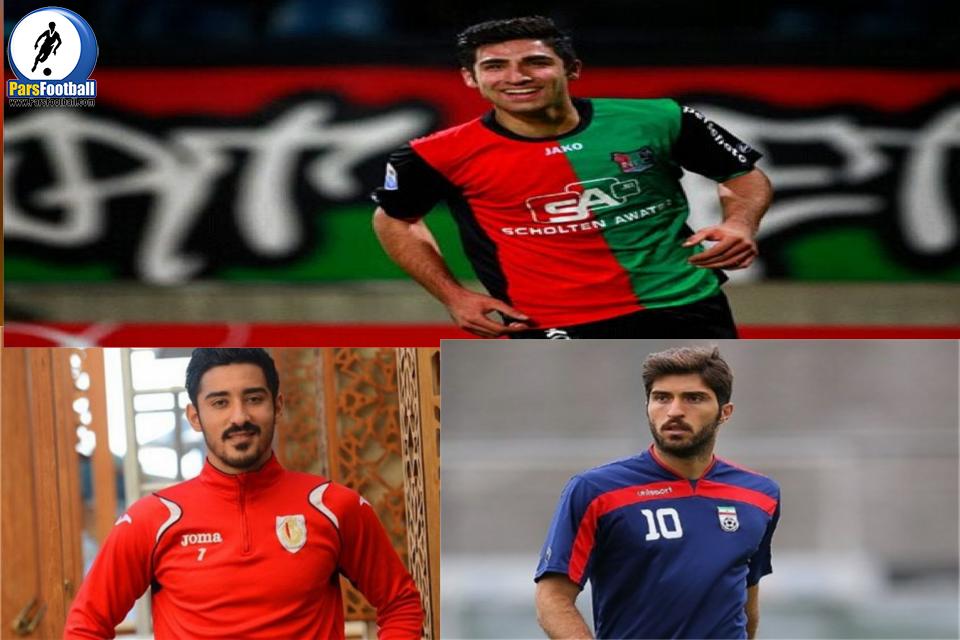لژیونر ها ی فوتبال ایران ستاره تیم های اروپایی در قالب برنامه نود .