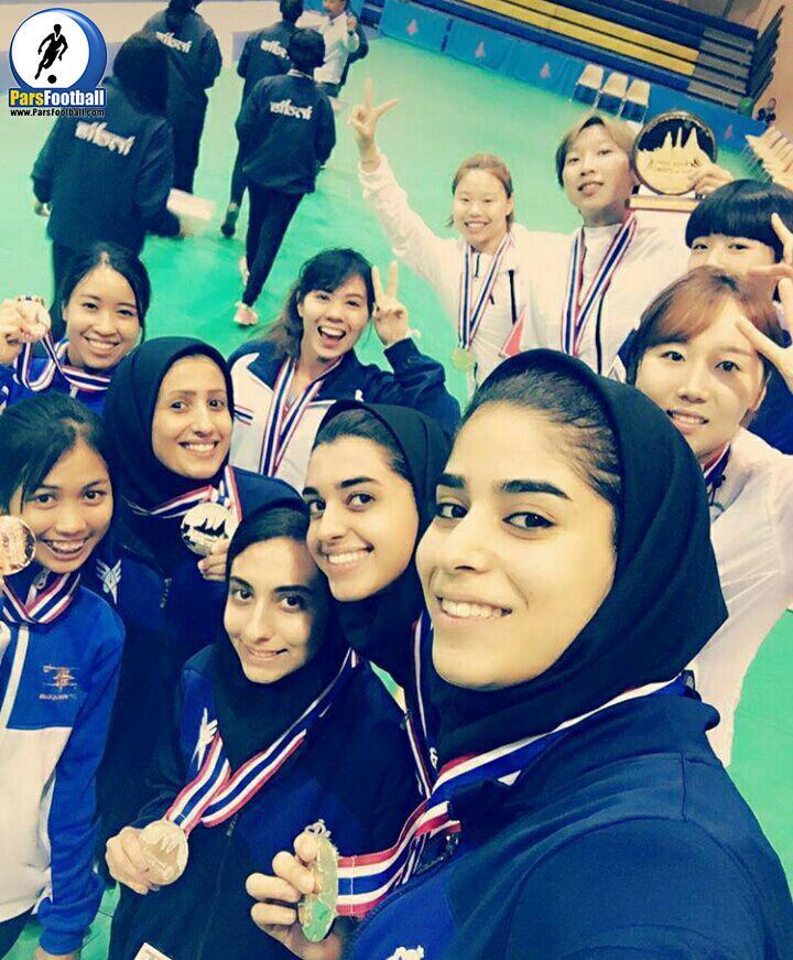 دختران شمشیرباز ایران