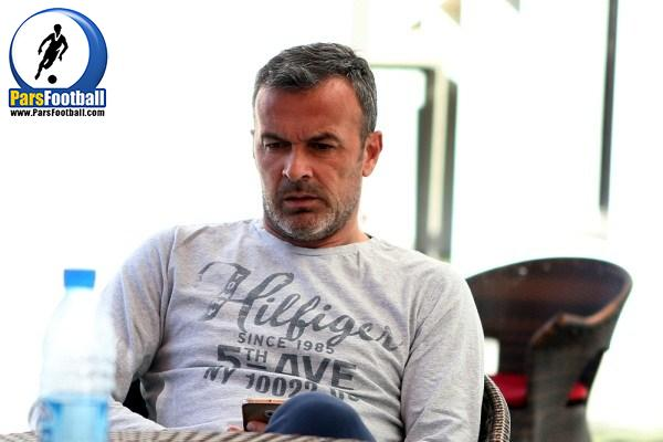 ایگور پانادیچ مربی دروازه بانان تیم پرسپولیس