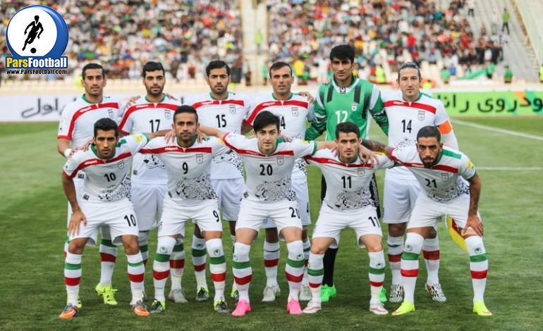 تیم ملی فوتبال ایران - ملی پوشان