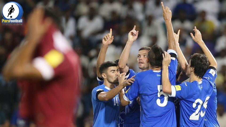 احمدوف - کاپیتان تیم ملی ازبکستان