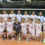 تیم والیبال ب ایران