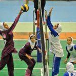 والیبال زنان ورزشکار