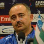 سرمربی تیم ملی ازبکستان