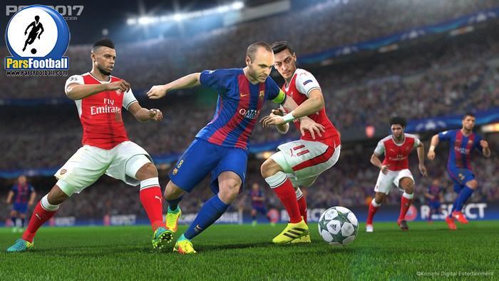 بازی PES 2017 عنوانی بدون ایراد، بدون نوآوری - پارس فوتبال