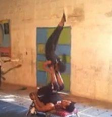 حرکات ورزشی ژیمناستیک