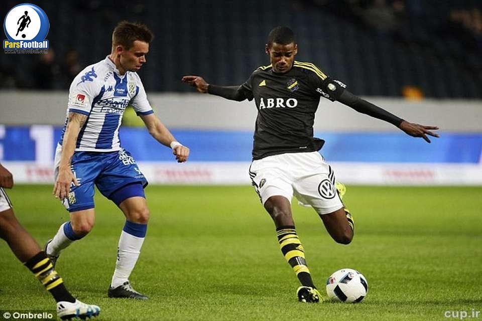 الکساندر ایزاک - فوتبال سوئد