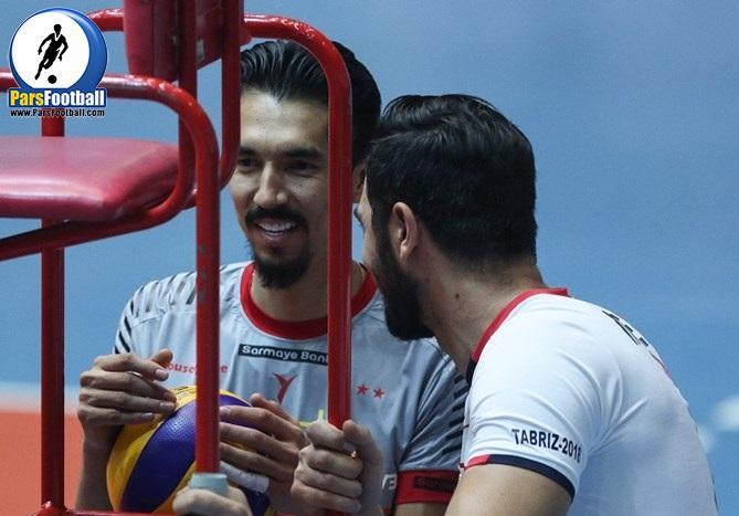 فرهاد قائمی ملی پوش والیبال کشورمان در دبی به استادیوم سوارکاری این شهر رفت