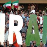 هواداران تیم ملی فوتبال - ورزشگاه آزادی