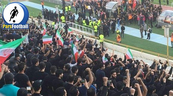 هواداران در ورزشگاه آزادی