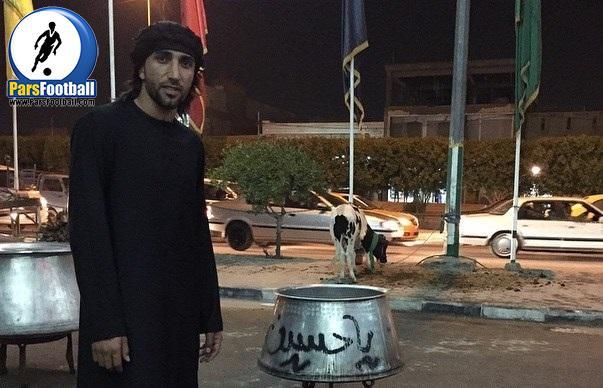 جاسم کرار هافبک عراقی تیم فوتبال تراکتورسازی تبریز