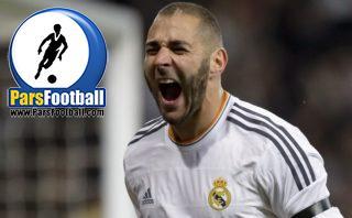 کلیپی از تماشاگر ایرانی بازی بارسلونا و رئال مادرید که با کریم بنزما شوخی می کند ؛ پارس فوتبال
