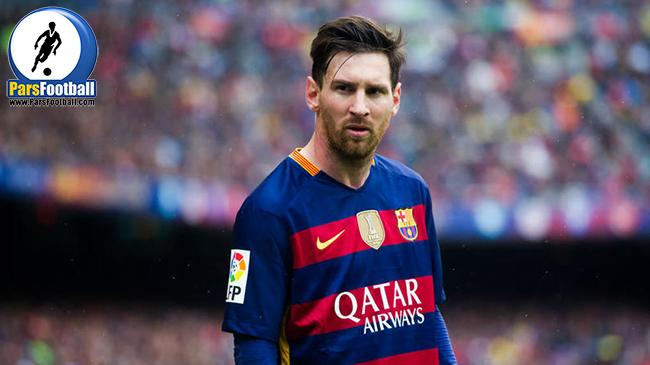 لیونل مسی مهاجم بارسلونا