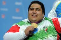 سیامند رحمان قهرمان وزنه برداری پارالمپیک وجهان