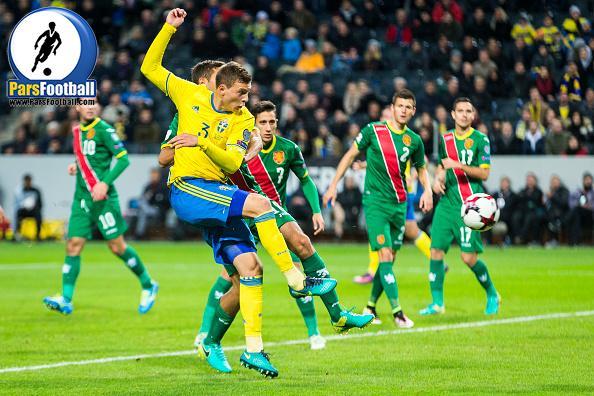 فیلم | دانلود گلهای بازی سوئد مقابل بلغارستان در مقدماتی جام جهانی