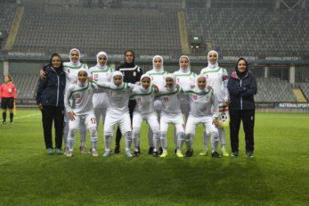 گزارش تصویری از بازی دوستانه تیمهای ملی فوتبال زنان ایران و سوئد در گوتنبرگ