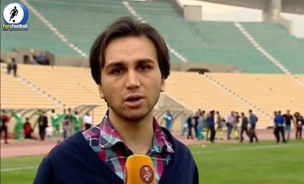 فیلم گزارش یاسر اشراقی خبرنگار صداوسیما که در مورد بازی های جام حذفی گزارش تهیه کرده است