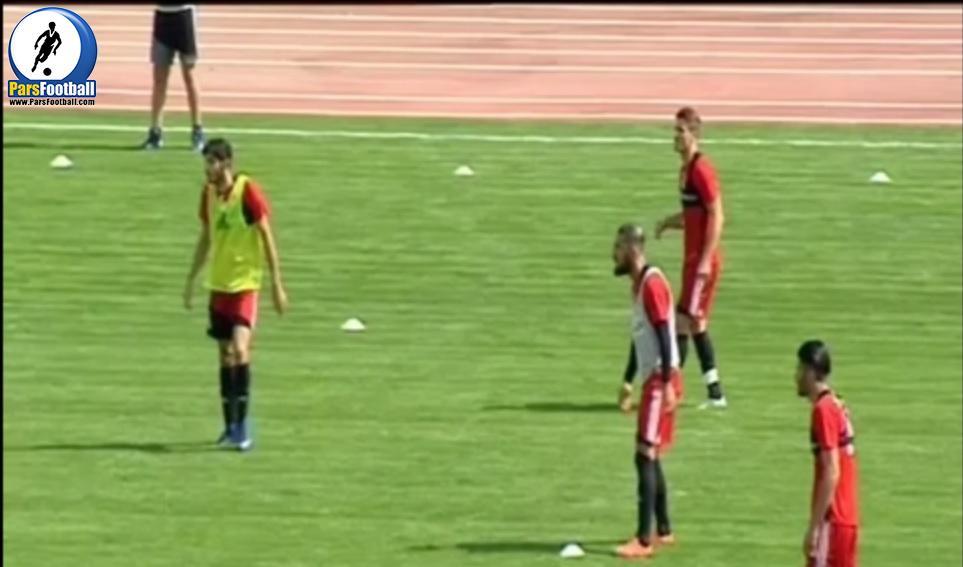 گزارشی از تمرینات تیم ملی در آخرین روزهای پیش از بازی مقابل سوریه