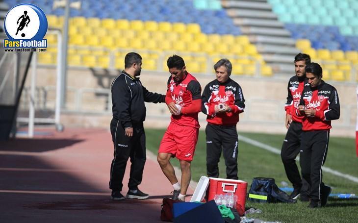 مشکل جدید پرسپولیس ، امید عالیشاه مصدومی دیگر روی دست برانکو ! ؛ پارس فوتبال