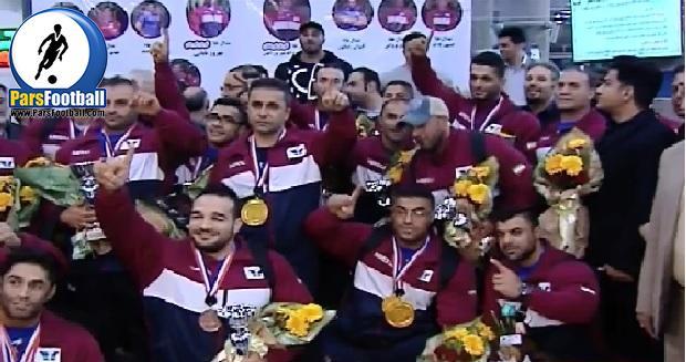 فیلم ؛ تیم ملی پرورش اندام و بادی کلاسیک ایران برای سومین بار قهرمان جهان در اسپانیا شد