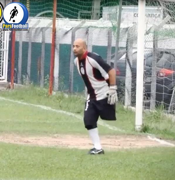 فیلم   مهارت های دروازه بان معلول   خبر گذاری فوتبال ایران