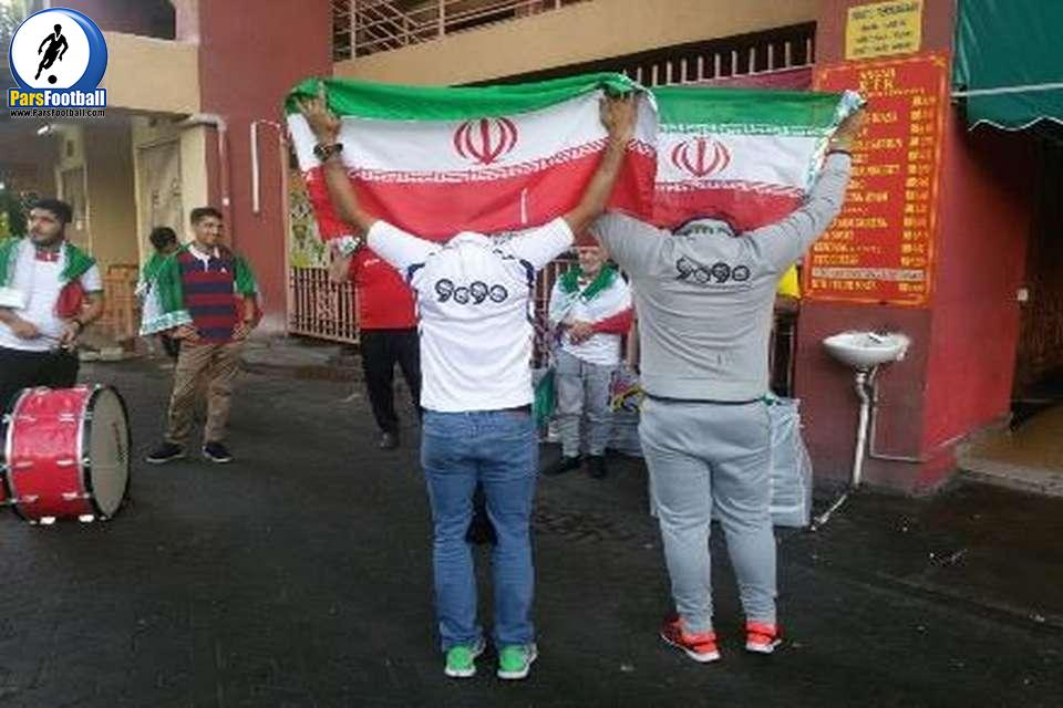 هواداران ایرانی در مالزی