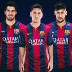خط حمله بارسلونا