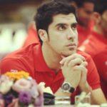 شهرام محمودی ملی پوش تیم والیبال