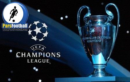 لیگ قهرمانان اروپا و 16 تیم حاضر در مرحله یک هشتم نهایی از پارس فوتبال