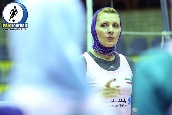 سرمربی تیم ملی والیبال بانوان