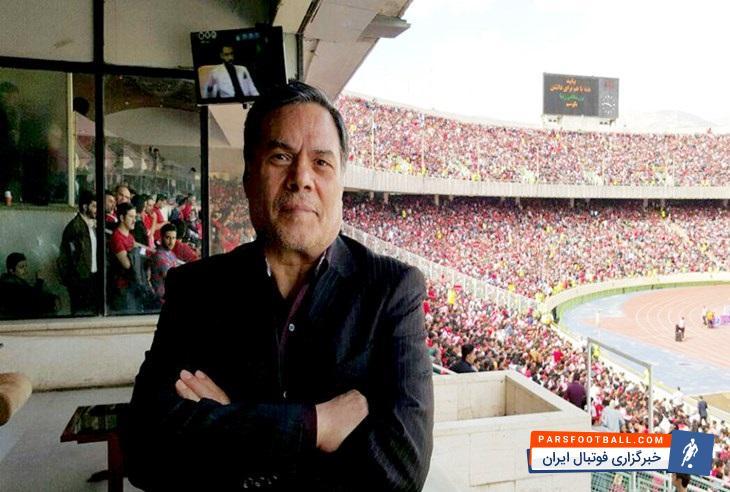 اظهارات علی جمشیدی در مورد عکس العمل باشگاه پرسپولیس در برابر جریمه فیفا