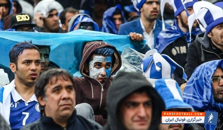 ادعای جدید باشگاه نفت ، فحاشی و درگیری لیدرهای استقلال با تماشاگران !