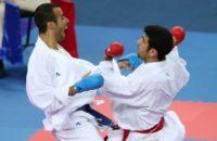 کاراته جام ایران زمین - علی خرمی