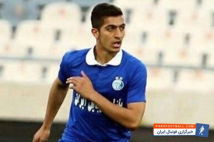 مجید حسینی مدافع جوان استقلال درانتظار اتفاقات آینده ؛ پارس فوتبال