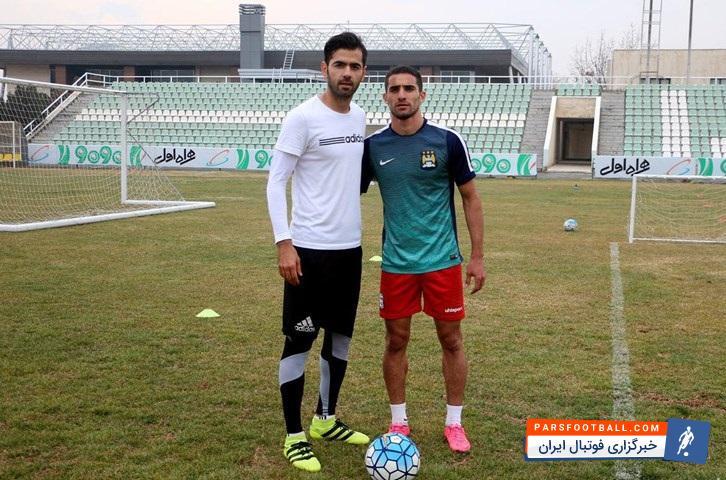 کری جالب میان پژمان منتظری استقلالی و میلاد محمدی پرسپولیسی در آکادمی فوتبال