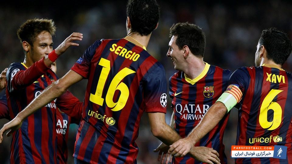 پیش بازی تیم های بارسلونا و بیلبائو از بازی های جام حذفی اسپانیا 22 دیماه 95