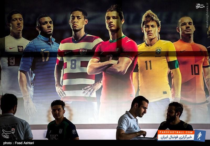 فیلم ؛ خطاهای عجیب و جالب در بازی های فوتبال رایانه ای ؛ پارس فوتبال