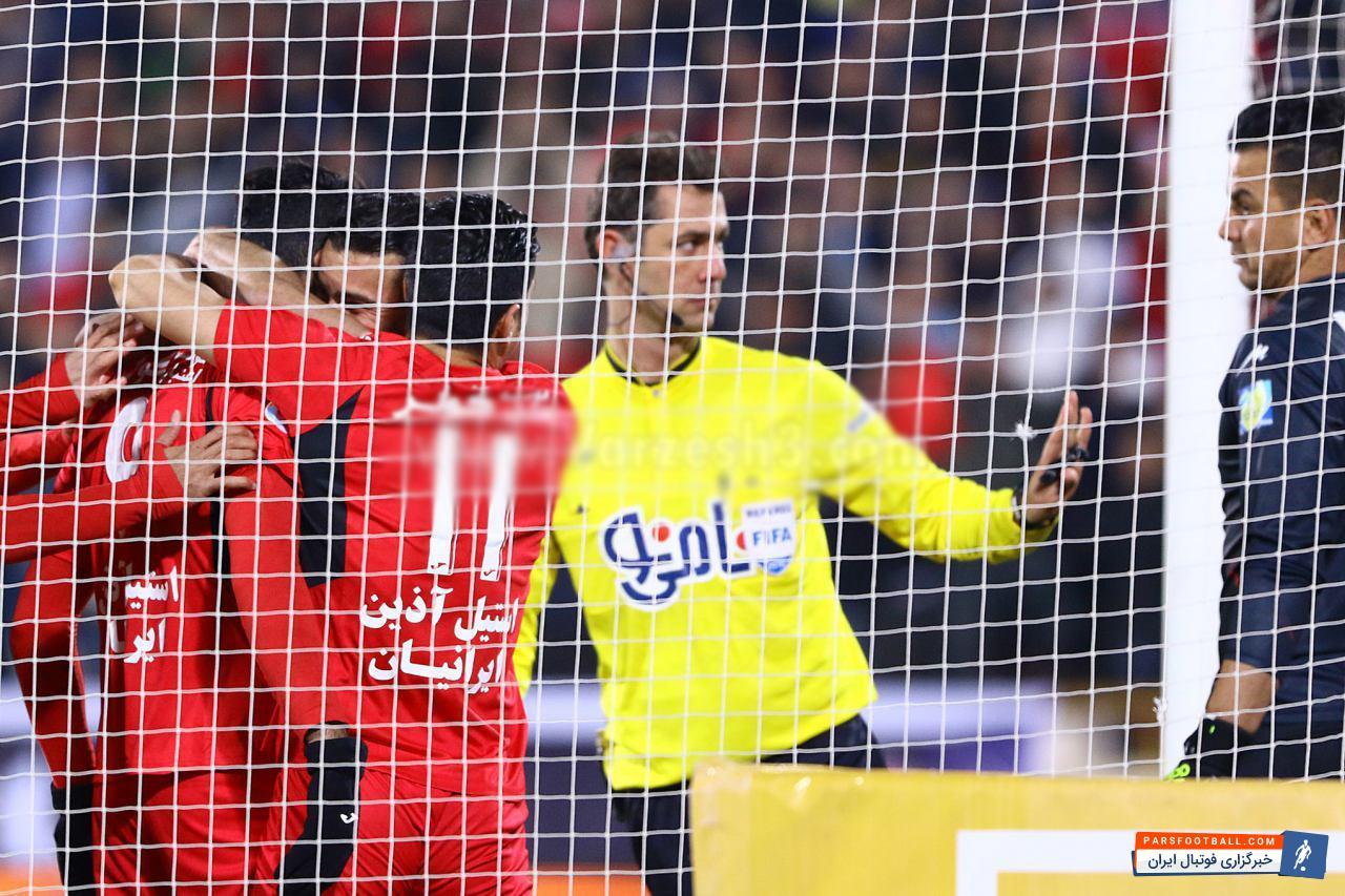خلاصه بازی تیم های پرسپولیس و سایپا از بازی های لیگ برتر خلیج فارس 24 دیماه 95