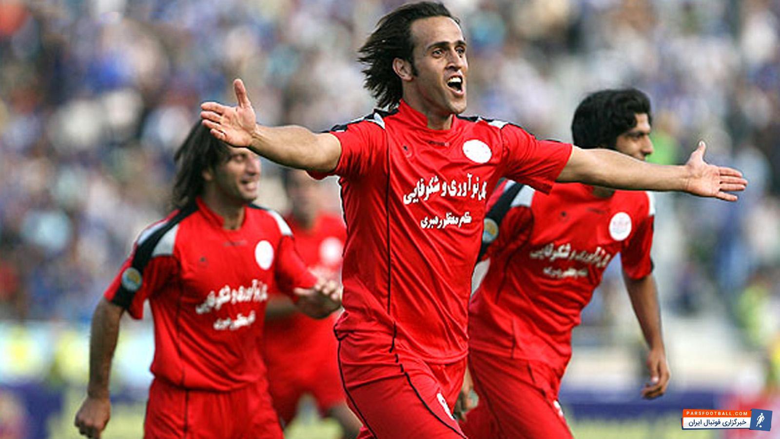 علی کریمی در بابل: دیگه مغزم کار نمیکند چرا این طوری بازی می کنند ؛ پارس فوتبال