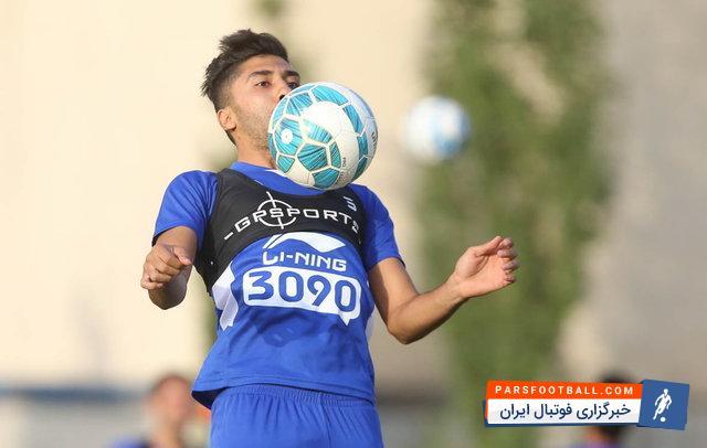 """تصویری از فرشید باقری بازیکن """" استقلال"""" در لباس دامادی"""