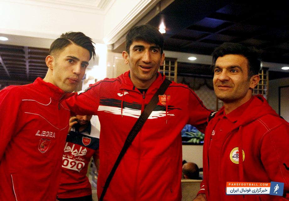 بیرانوند در کنار دوستان نفتی خود | اولین خبرگزاری فوتبال ایران