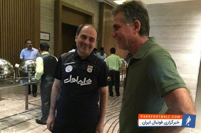 محمود اسلامیان : آقای کی روش ناراحت است | خبرگزاری فوتبال ایران