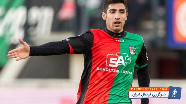 تصویری از علیرضا جهانبخش در میان 5 بازیکن برتر لیگ هلند ؛ پارس فوتبال