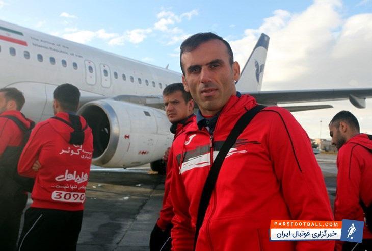 کاروان تیم فوتبال پرسپولیس وارد فرودگاه اهواز شد | خبرگزاری فوتبال ایران
