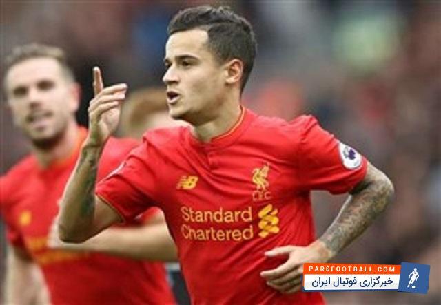کوتینیو : حضور در جمع چهار تیم هدف اصلی لیورپول است ؛ ستاره قرمزها به لیگ قهرمانان چشم دوخت!