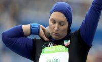 خداحافظی لیلا رجبی از دوومیدانی