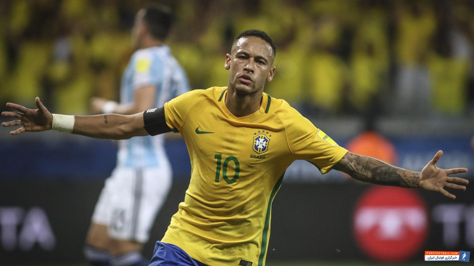 تمجید گیلبرتو بازیکن سابق برزیل از نیمار به عنوان بهترین بازیکن جهان در آینده نزدیک