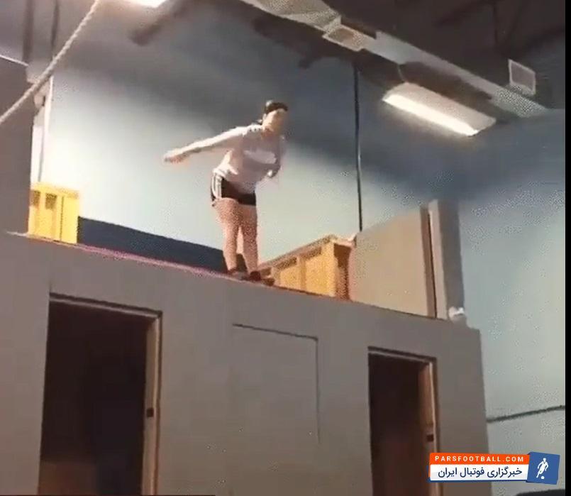 فیلم ؛ حرکت جالب و تکنیک های ناب در ورزش پرش از ارتفاع ؛ پارس فوتبال